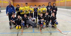 כתבה על מועדון הוקי גלגליות קריית ביאליק קצר שבחים בטורניר שהתקיים בגרמניה